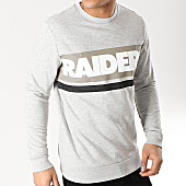 /achat-sweats-col-rond-crewneck/only-and-sons-sweat-crewneck-oakland-raiders-nfl-club-gris-chine-166603.html