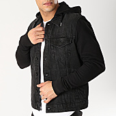 /achat-vestes-jean/only-and-sons--veste-jean-capuche-coin-noir-166607.html