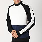 /achat-sweats-col-rond-crewneck/only-and-sons-sweat-crewneck-avec-bandes-owen-blanc-noir-bleu-marine-166617.html