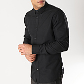 /achat-chemises-manches-longues/only-and-sons--chemise-manches-longues-travis-noir-166618.html