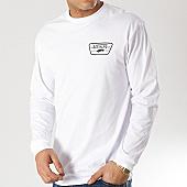 /achat-t-shirts-manches-longues/vans-tee-shirt-manches-longues-full-patch-blanc-noir-166535.html