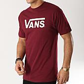 /achat-t-shirts/vans-tee-shirt-classic-bordeaux-blanc-166542.html