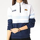 /achat-sweats-col-zippe/ellesse-sweat-col-zippe-femme-1076n-blanc-bleu-marine-bleu-clair-166734.html
