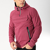 /achat-sweats-capuche/geographical-norway-sweat-capuche-col-zippe-gymsport-bordeaux-chine-166643.html
