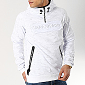 /achat-sweats-capuche/geographical-norway-sweat-capuche-col-zippe-gymsport-blanc-chine-166644.html