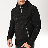 /achat-sweats-capuche/geographical-norway-sweat-capuche-col-zippe-gymsport-noir-chine-166649.html