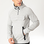 /achat-sweats-capuche/geographical-norway-sweat-capuche-col-zippe-gymsport-gris-chine-166655.html