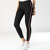 /achat-jeans/girls-only-jean-skinny-avec-bandes-femme-mm101-noir-rouge-blanc-166802.html