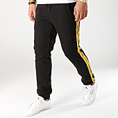 /achat-pantalons-joggings/jack-and-jones-pantalon-jogging-avec-bandes-vision-noir-166753.html