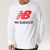 /achat-sweats-col-rond-crewneck/new-balance-sweat-crewneck-logo-690940-60-blanc-166833.html