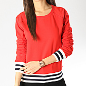 /achat-sweats-col-rond-crewneck/only-sweat-crewneck-femme-sofy-rouge-166656.html