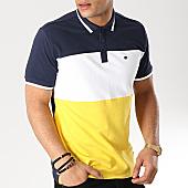/achat-polos-manches-courtes/teddy-smith-polo-manches-courtes-prover-jaune-blanc-bleu-marine-166698.html