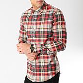 /achat-chemises-manches-longues/uniplay-chemise-manches-longues-a-carreaux-7021-noir-blanc-rouge-166670.html