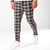 /achat-pantalons-carreaux/uniplay-pantalon-a-carreaux-t3309-noir-blanc-rouge-166680.html