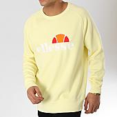 /achat-sweats-col-rond-crewneck/ellesse-sweat-crewneck-1032n-jaune-pastel-166883.html