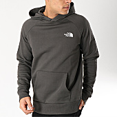 /achat-sweats-capuche/the-north-face-sweat-capuche-red-box-2zwu-gris-anthracite-166942.html
