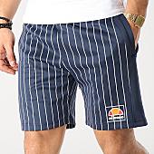 /achat-shorts-jogging/ellesse-short-jogging-stripes-1033n-bleu-marine-blanc-167044.html