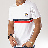 /achat-t-shirts/ellesse-tee-shirt-rayures-1031n-blanc-rouge-bleu-marine-167183.html
