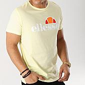 /achat-t-shirts/ellesse-tee-shirt-uni-1031n-jaune-pastel-167197.html