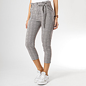 /achat-pantalons-carreaux/girls-only-pantalon-carreaux-femme-tr299-marron-blanc-167058.html
