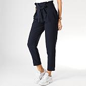 /achat-pantalons-carreaux/girls-only-pantalon-femme-1002-bleu-marine-167096.html