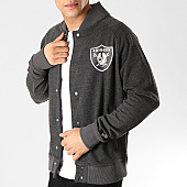 /achat-teddys/new-era-teddy-core-jersey-varsity-oakland-raiders-11860017-gris-anthracite-167188.html