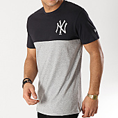 /achat-t-shirts/new-era-tee-shirt-color-block-new-york-yankees-11860154-gris-chine-bleu-marine-167228.html
