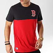 /achat-t-shirts/new-era-tee-shirt-color-block-boston-red-sox-11860156-rouge-bleu-marine-167231.html