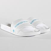 /achat-claquettes-sandales/puma-claquettes-leadcat-om-370207-01-white-bleu-azur-167246.html