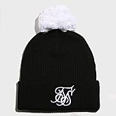 /achat-bonnets/siksilk-bonnet-bobble-14543-noir-blanc-166995.html