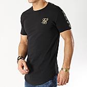 /achat-t-shirts-longs-oversize/siksilk-tee-shirt-oversize-13561-noir-dore-167034.html