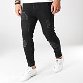 /achat-jeans/siksilk-jean-skinny-12995-noir-167041.html