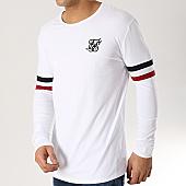 /achat-t-shirts-manches-longues/siksilk-tee-shirt-manches-longues-13570-blanc-167050.html