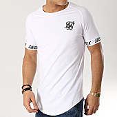 /achat-t-shirts-longs-oversize/siksilk-tee-shirt-oversize-14080-blanc-167052.html
