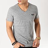/achat-t-shirts/superdry-tee-shirt-col-v-orange-label-vintage-gris-chine-167146.html