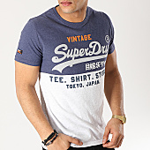 /achat-t-shirts/superdry-tee-shirt-shop-tri-panel-bleu-marine-gris-chine-167148.html