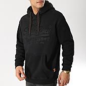 /achat-sweats-capuche/superdry-sweat-capuche-vintage-logo-applique-noir-167153.html