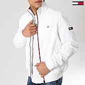 /achat-vestes/tommy-hilfiger-jeans-veste-zippee-casual-5423-blanc-167133.html