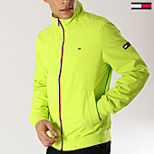 /achat-vestes/tommy-hilfiger-jeans-veste-zippee-casual-5423-vert-pomme-167134.html