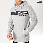 /achat-sweats-capuche/tommy-hilfiger-jeans-sweat-capuche-essential-graphic-6047-gris-chine-167154.html