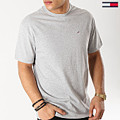 /achat-t-shirts/tommy-hilfiger-jeans-tee-shirt-classic-6061-gris-chine-167162.html