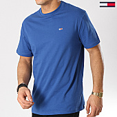 /achat-t-shirts/tommy-hilfiger-jeans-tee-shirt-classic-6061-bleu-ciel-167164.html