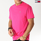 /achat-t-shirts/tommy-hilfiger-jeans-tee-shirt-classic-6061-rose-167167.html