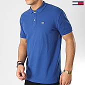 /achat-polos-manches-courtes/tommy-hilfiger-jeans-polo-manches-courtes-classic-6112-bleu-marine-167198.html