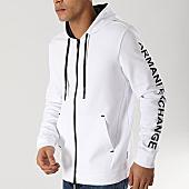 /achat-sweats-zippes-capuche/armani-exchange-sweat-zippe-capuche-3gzm83-zjq2z-blanc-167334.html