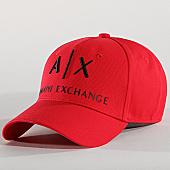 /achat-casquettes-de-baseball/armani-exchange-casquette-954039-cc513-rouge-167357.html