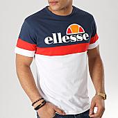 /achat-t-shirts/ellesse-tee-shirt-tricolore-1031n-blanc-bleu-marine-rouge-167295.html
