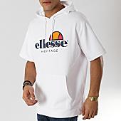 /achat-sweats-capuche/ellesse-sweat-capuche-manches-courtes-1032n-blanc-167341.html