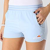 /achat-shorts-jogging/ellesse-short-jogging-femme-1077n-bleu-clair-167350.html