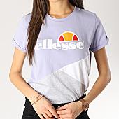 /achat-t-shirts/ellesse-tee-shirt-femme-tricolore-1074n-lavande-gris-chine-blanc-167407.html